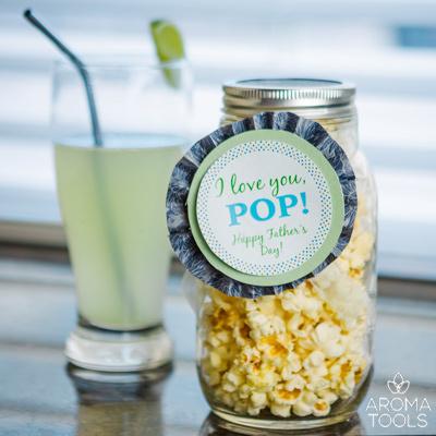 popcorn gift jar