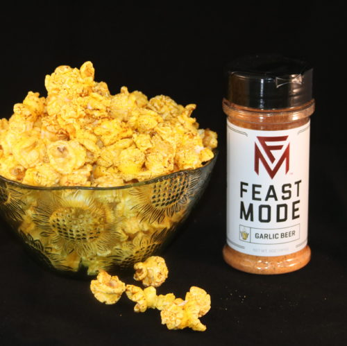 Garlic Beer Popcorn