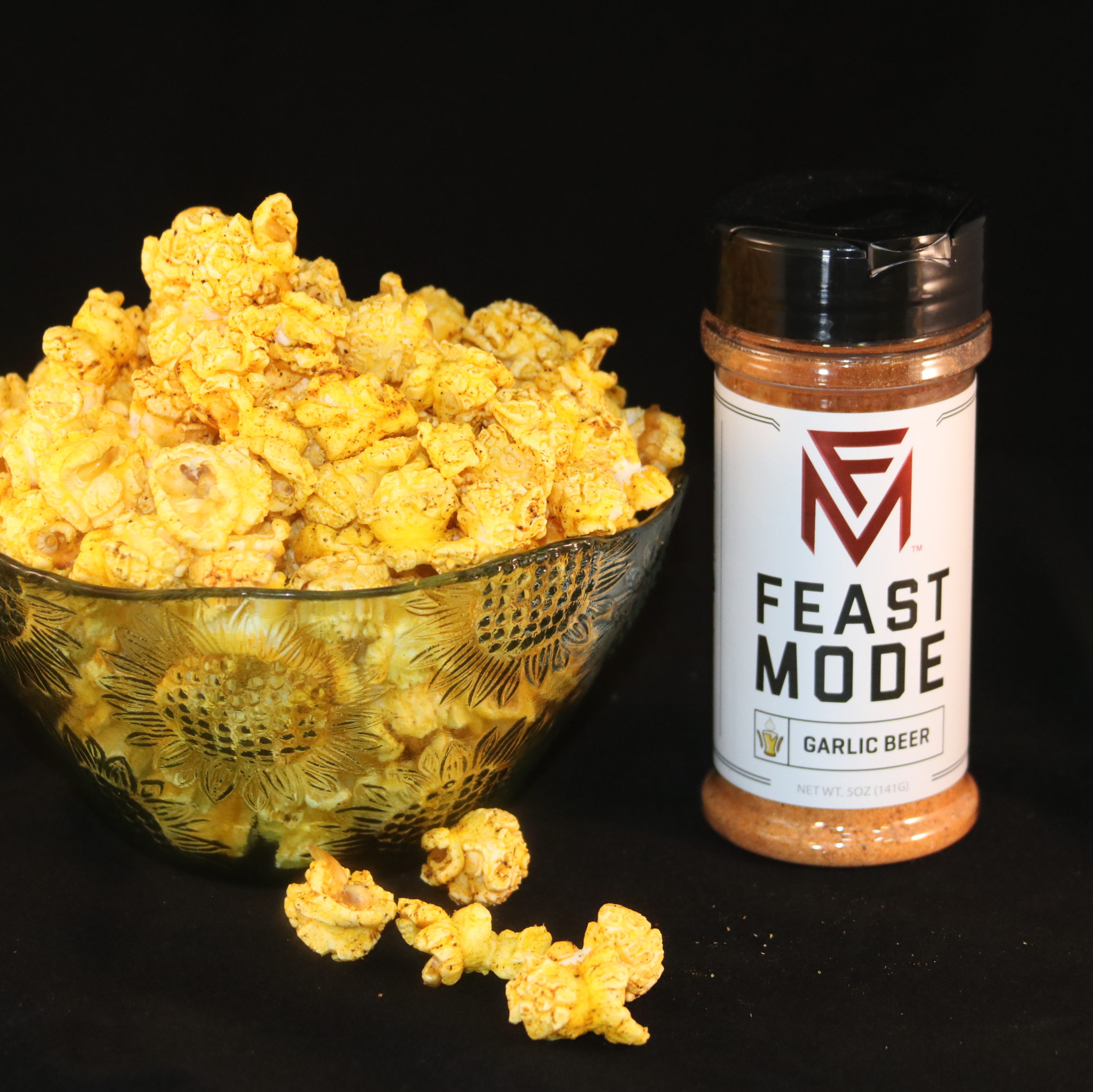 Garlic Beer Popcorn