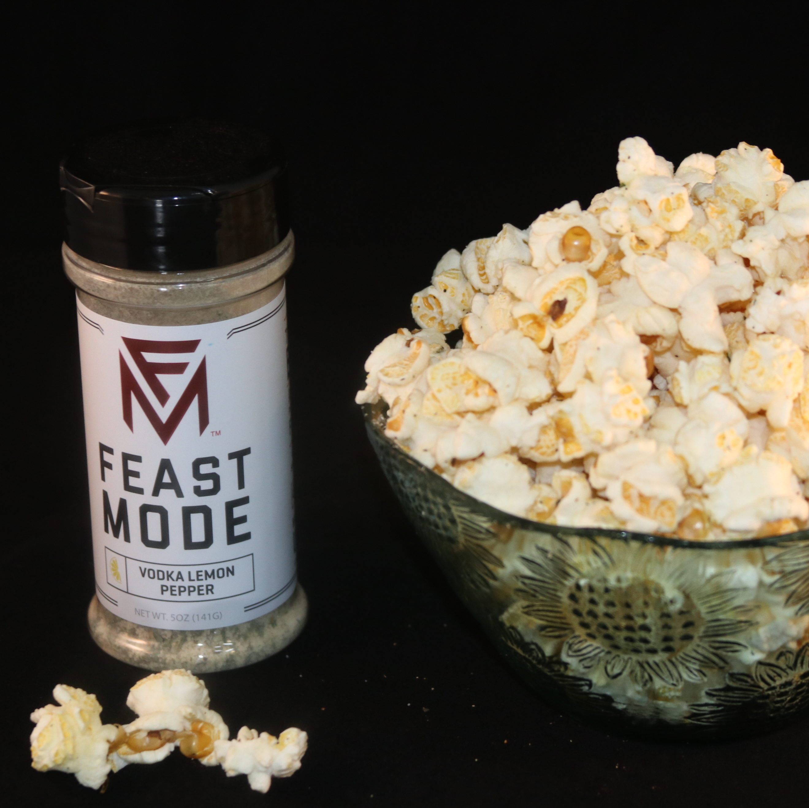 Vodka Lemon Pepper Popcorn Flavor