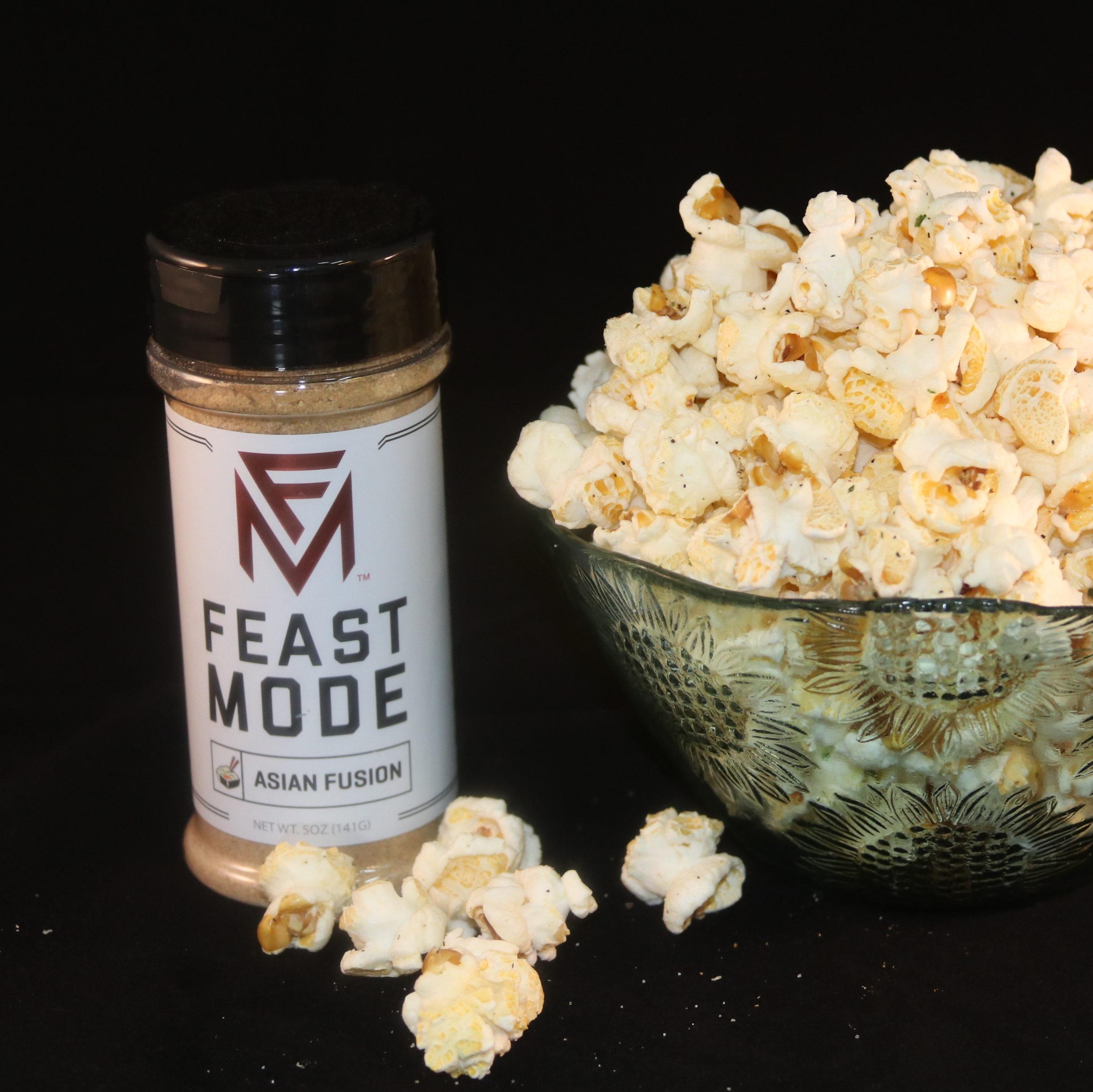 Asian Fusion Popcorn